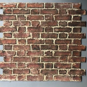 Worn Flemish Bond, Red Stock , BrickingIT