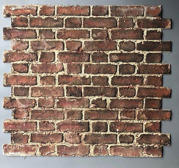 Worn Flemish Bond, Red Stock , BrickingIT