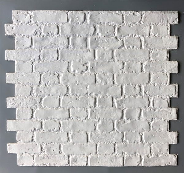 Worn Flemish Bond, White , BrickingIT