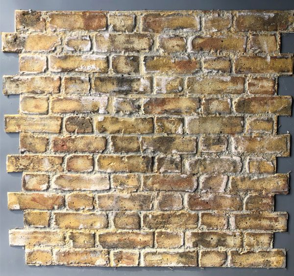 Worn Flemish Bond, Yellow Stock, BrickingIT